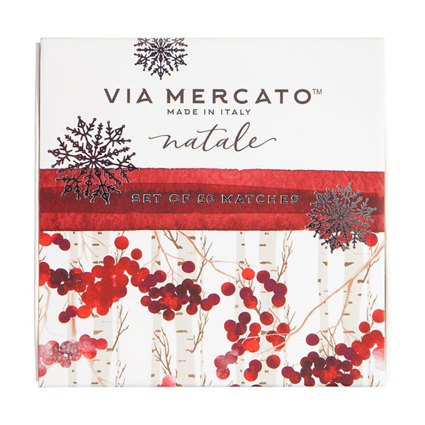 Wholesale Natale Match Box Set - Winter Berry - European Soaps