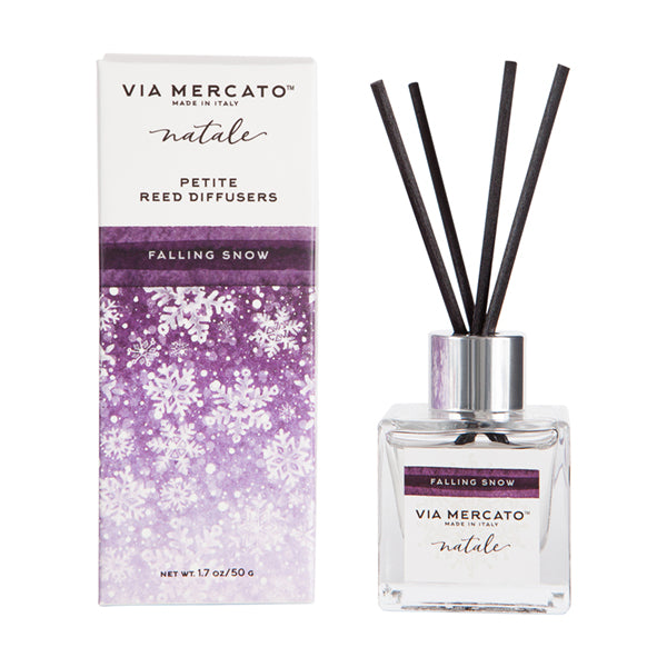 Wholesale Natale Petite Reed Diffuser - Falling Snow - European Soaps