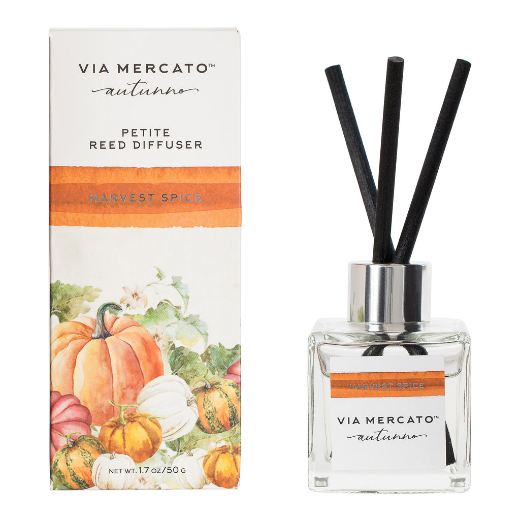 Autunno Petite Reed Diffuser - Harvest Spice - European Soaps