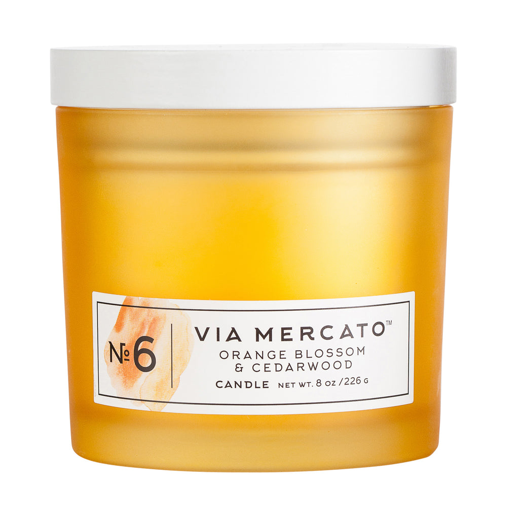 Wholesale Via Mercato No.6 Candle - European Soaps
