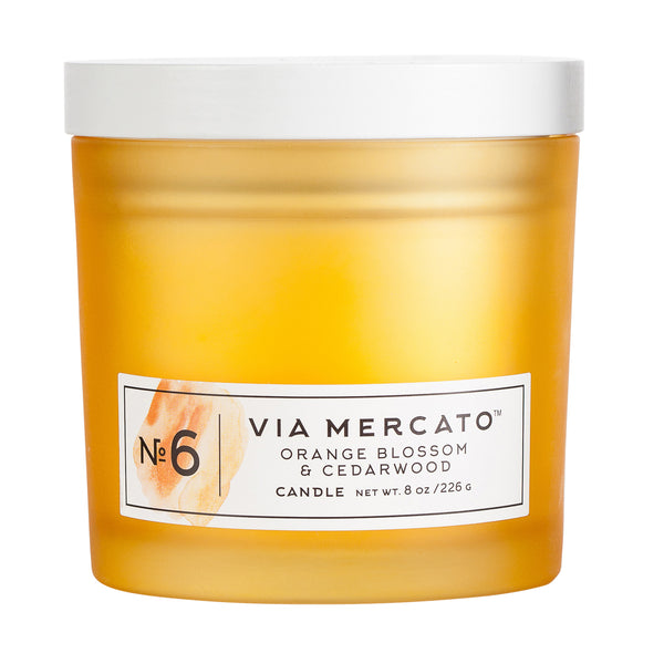 Via Mercato No.6 Candle - European Soaps