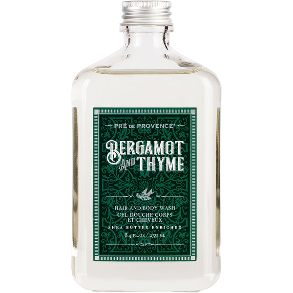 Hair And Body Wash - Bergamot & Thyme - European Soaps