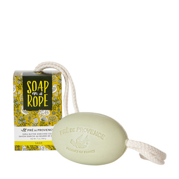 Wholesale Soap on a Rope - Sage - European Soaps