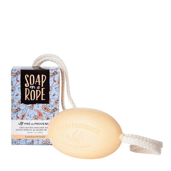 Wholesale Soap on a Rope - Sandalwood - European Soaps