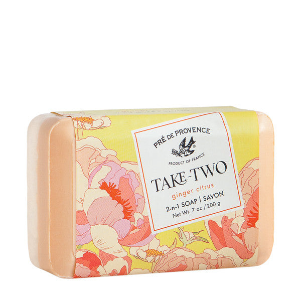 Take Two Soap - Ginger Citrus - European Soaps