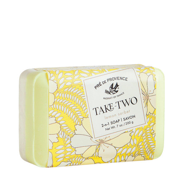 Wholesale Take Two Soap - Lemon Sorbet - European Soaps