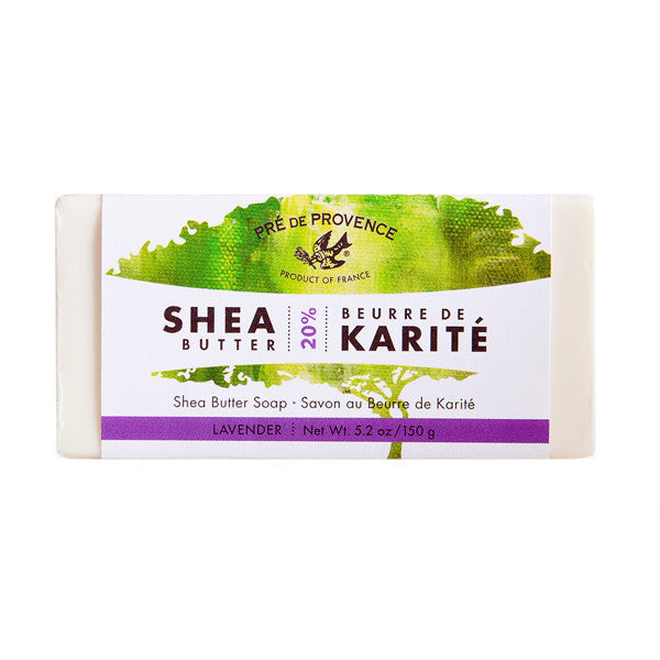 Wholesale 20% Shea Butter Handcut Soap - Lavender - European Soaps