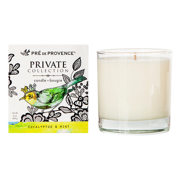Private Collection Candle - Eucalyptus & Mint - European Soaps
