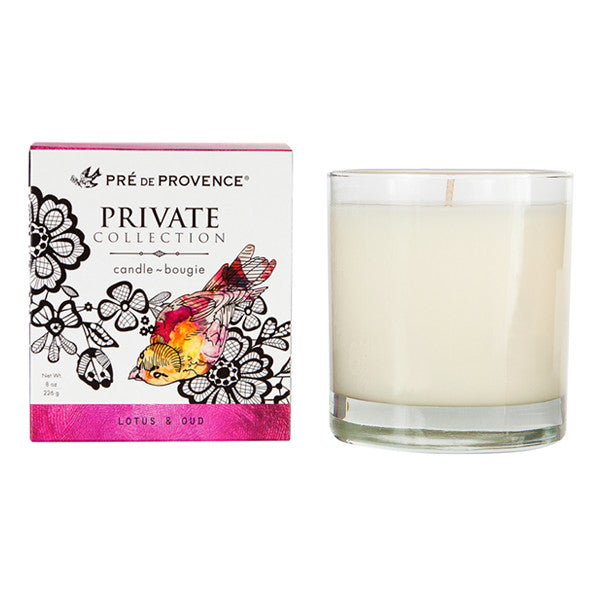 Private Collection Candle - Lotus & Oud - European Soaps