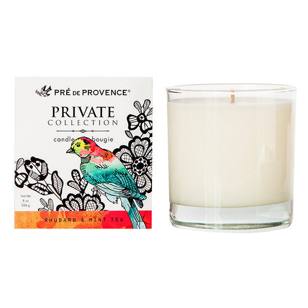 Private Collection Candle - Rhubarb & Mint Leaf - European Soaps