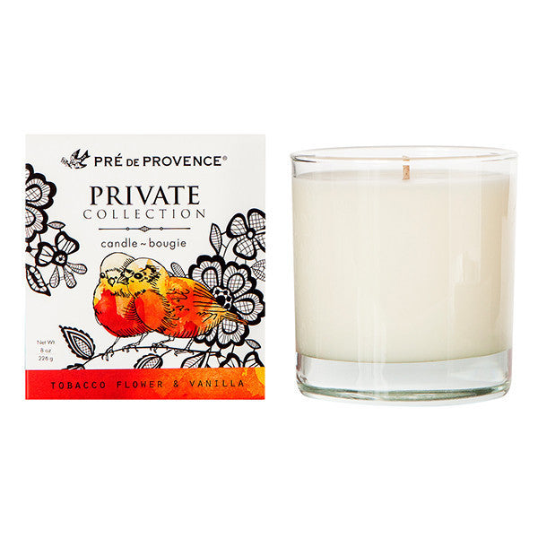 Private Collection Candle - Tobacco Flower & Vanilla - European Soaps