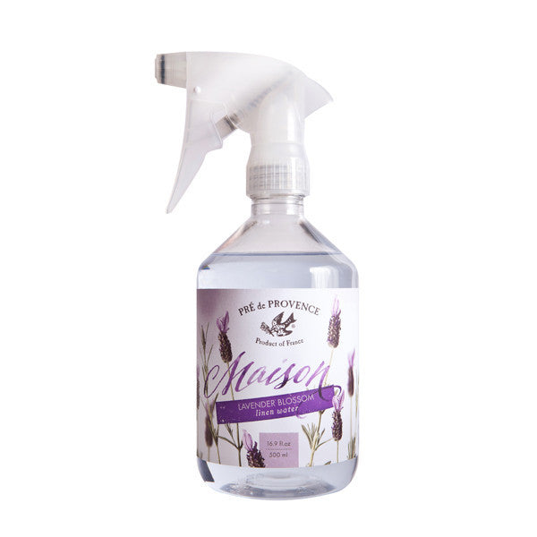 Maison French Lavender Blossom Linen Water with Sprayer - European Soaps