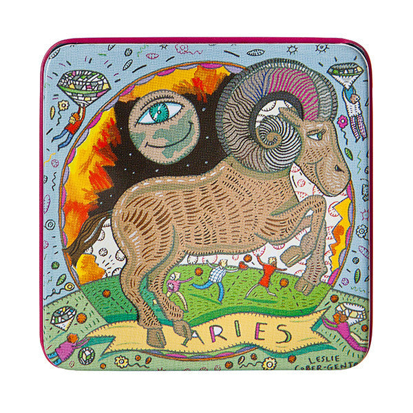 Zodiac Soap in Tin - Aries - European Soaps