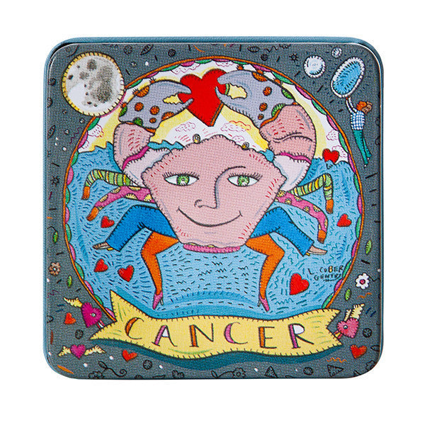 Zodiac Soap in Tin - Cancer - European Soaps