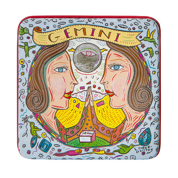 Zodiac Soap in Tin - Gemini - European Soaps