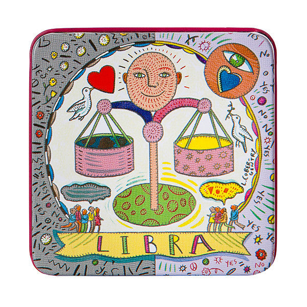 Zodiac Soap in Tin - Libra - European Soaps