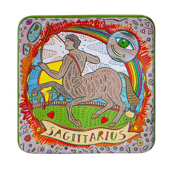 Zodiac Soap in Tin - Sagitarius - European Soaps