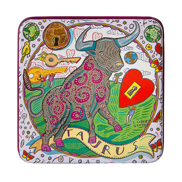 Zodiac Soap in Tin - Taurus - European Soaps