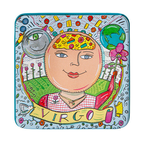 Zodiac Soap in Tin - Virgo - European Soaps