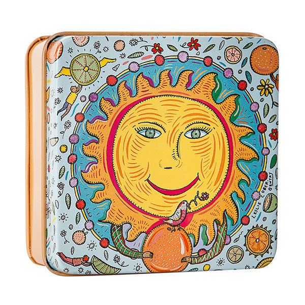 Luminaries Soap in Tin - Sun - European Soaps