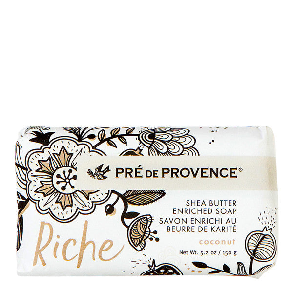 Wholesale Riche Wrapped Soap - Coconut - European Soaps