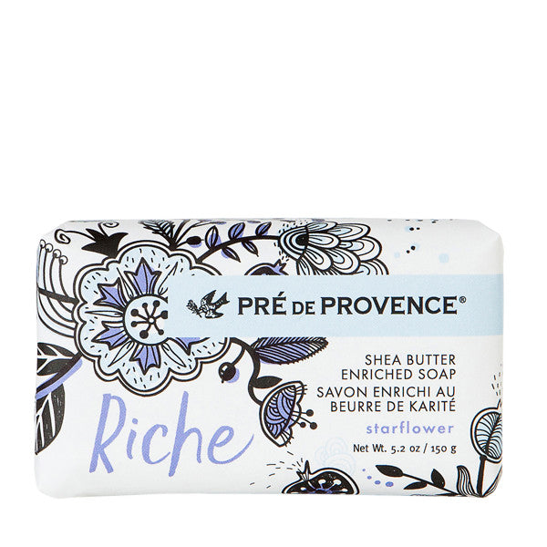 Wholesale Riche Wrapped Soap - Starflower - European Soaps