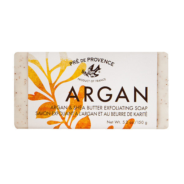 Wholesale Argan & Shea Butter Exfoliating Soap (150g) - European Soaps