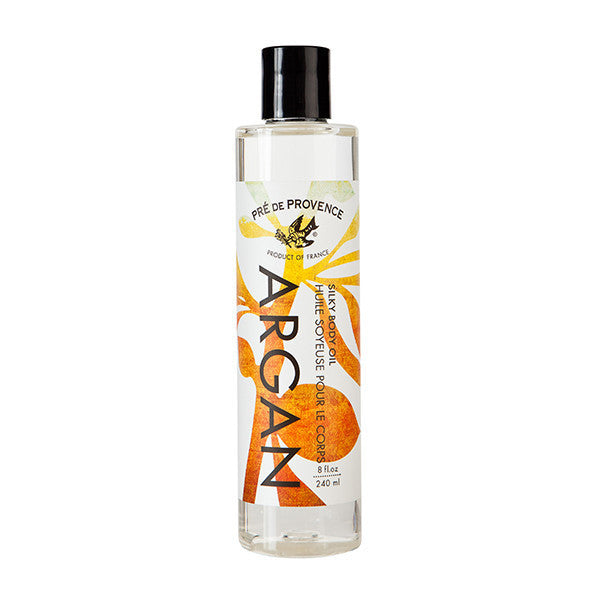 Wholesale Argan Silky Body Oil (240ml) - European Soaps