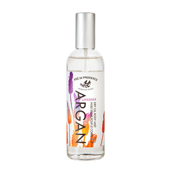 Argan Lavender Dry Oil Body Mist - European Soaps