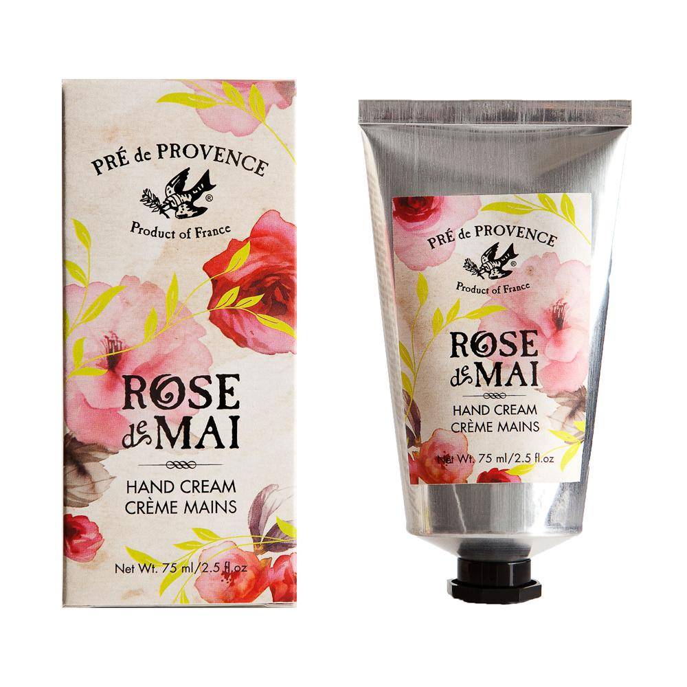 Rose de Mai Hand Cream - European Soaps