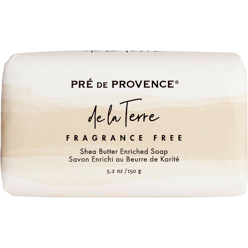 de la Terre - Unscented Soap Bar 150G - European Soaps