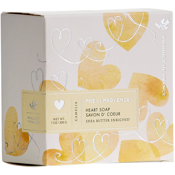 200g Heart Soap Gift Box - Camelia - European Soaps
