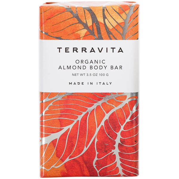 Terravita Organic Body Bar - Almond - European Soaps
