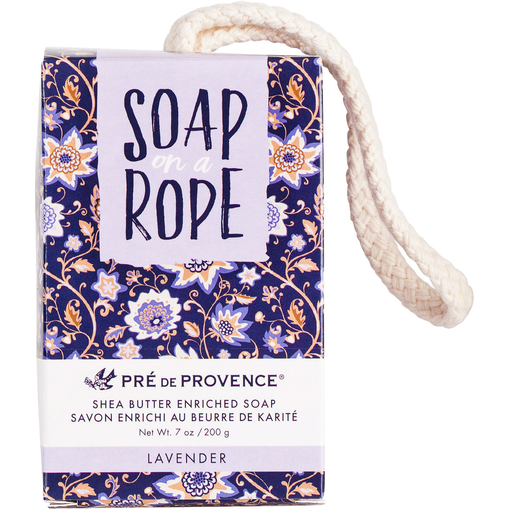 Soap on a Rope - Lavender - European Soaps