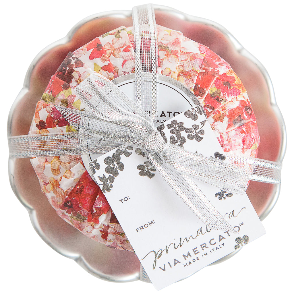 Primavera Soap & Dish Set - Red Currant Blossom
