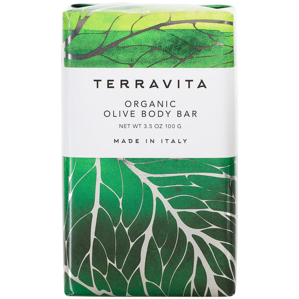 Terravita Organic Body Bar - Olive