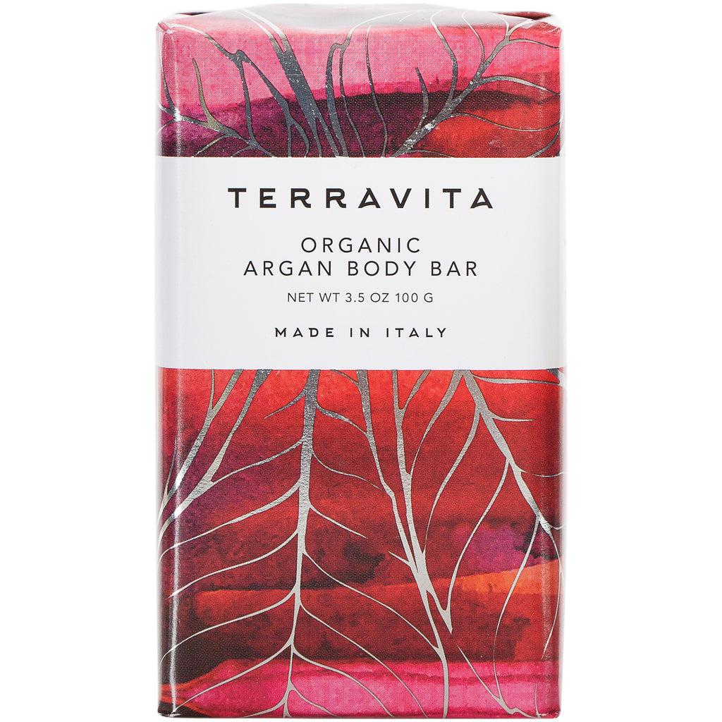 Terravita Organic Body Bar - Argan - European Soaps