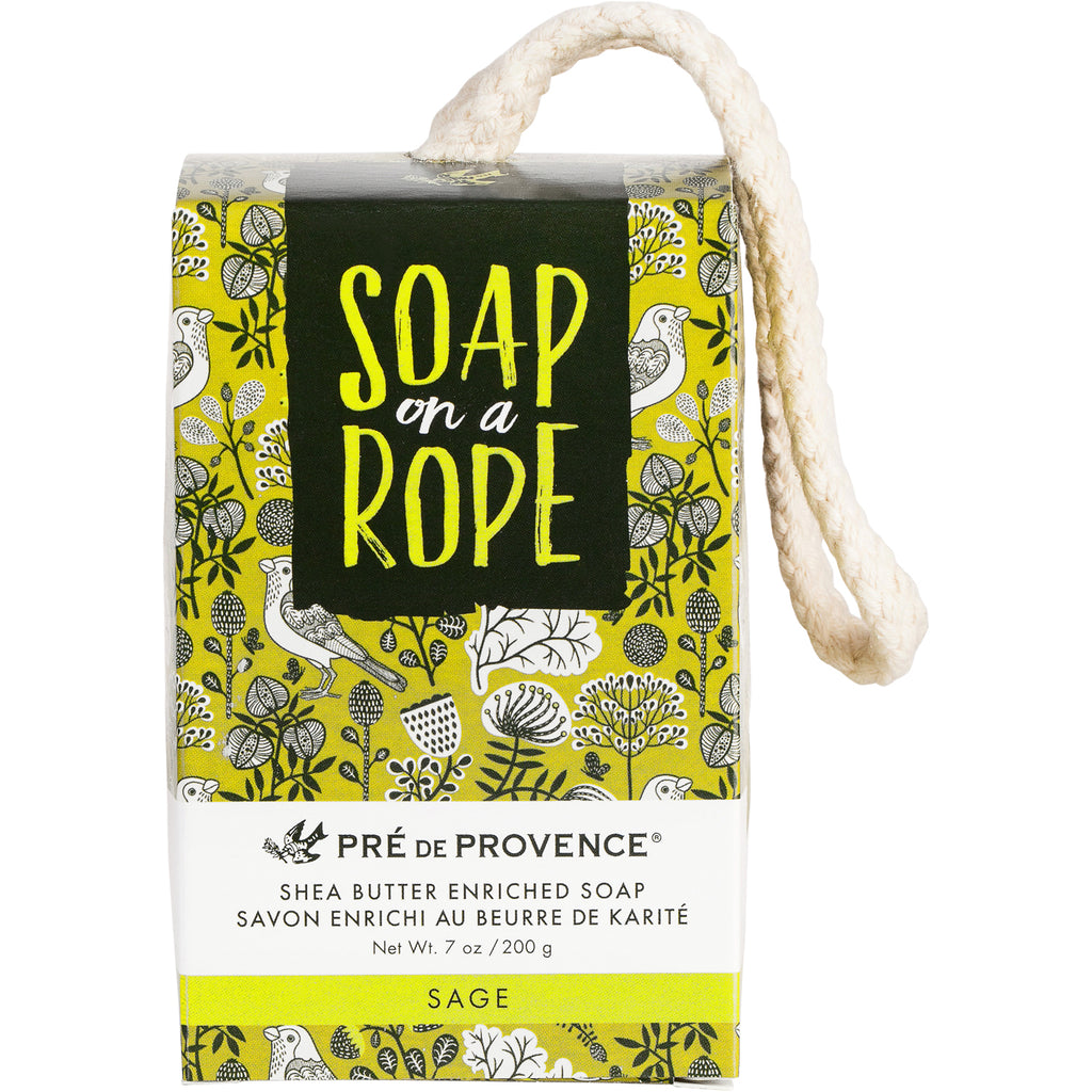 Soap on a Rope - Sage - European Soaps