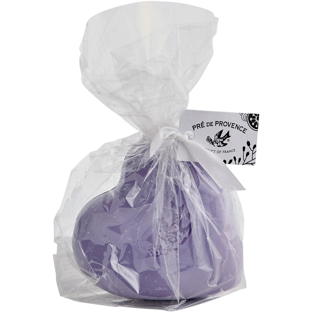 200g Heart Cello Gift Bag - Lavender