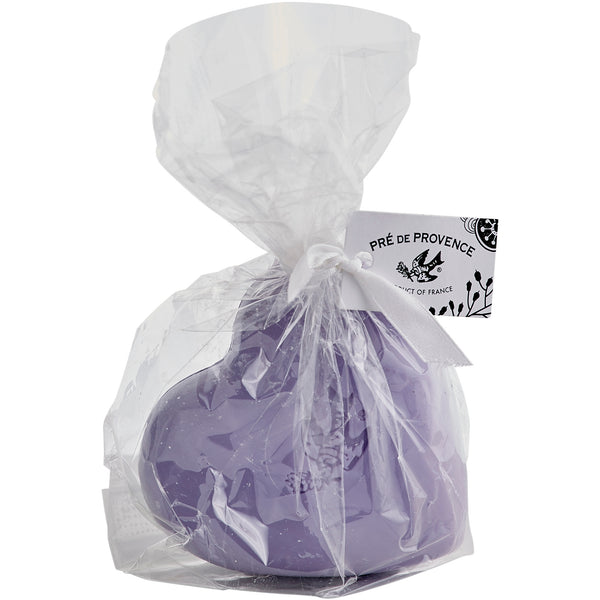 200g Heart Cello Gift Bag - Lavender - European Soaps