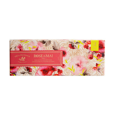 Rose de Mai Soap Gift Box - European Soaps