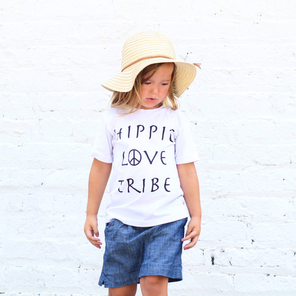 Hippie Love Tribe - Organic Tee