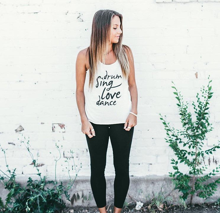 Drum Sing Love Dance Tank