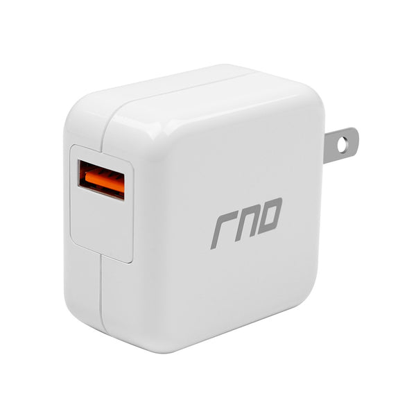 QC USB 3.0 AC White Charger