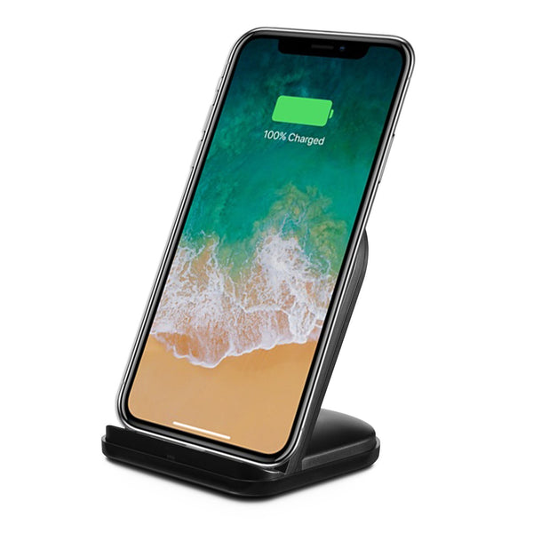 RND Wireless Charging Stand for Apple iPhone 8, 8 Plus, X (black)