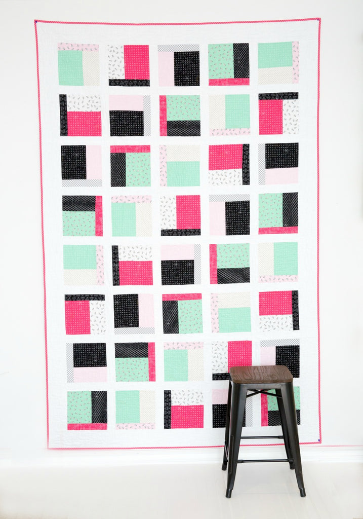 PATTERN (PDF):  The Dorm Room Quilt