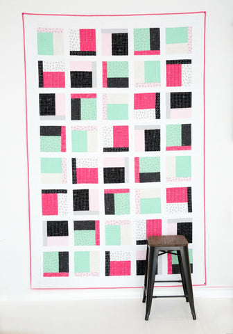 PATTERN (PDF):  The Dorm Room Quilt (Immediate Download)