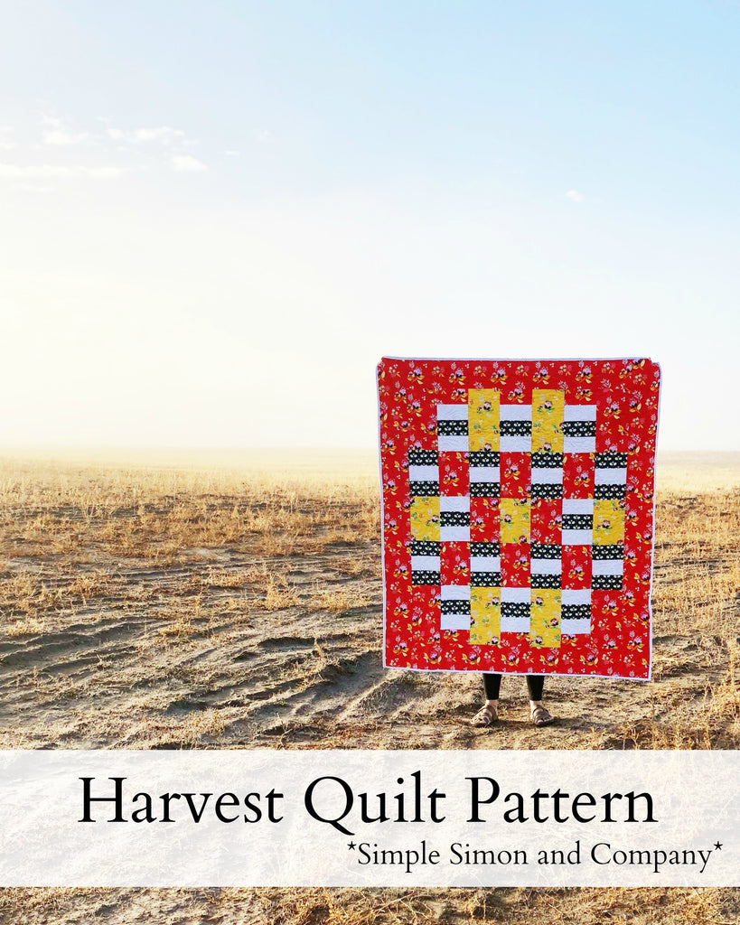 PATTERN (PDF): The Harvest Quilt Pattern