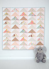 Pattern (PDF): Take Flight Baby Quilt