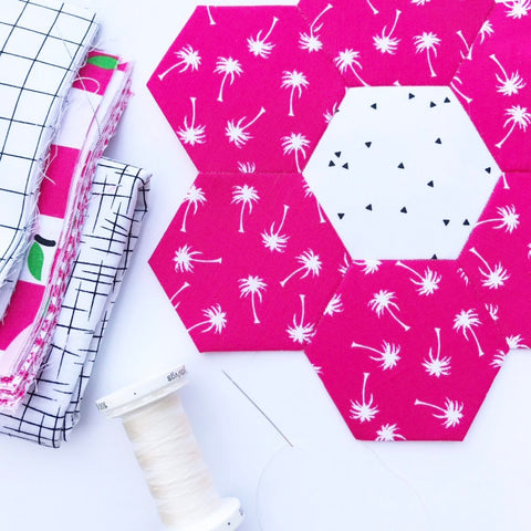 KIT (EPP):  English Paper Piecing Hexi Kit